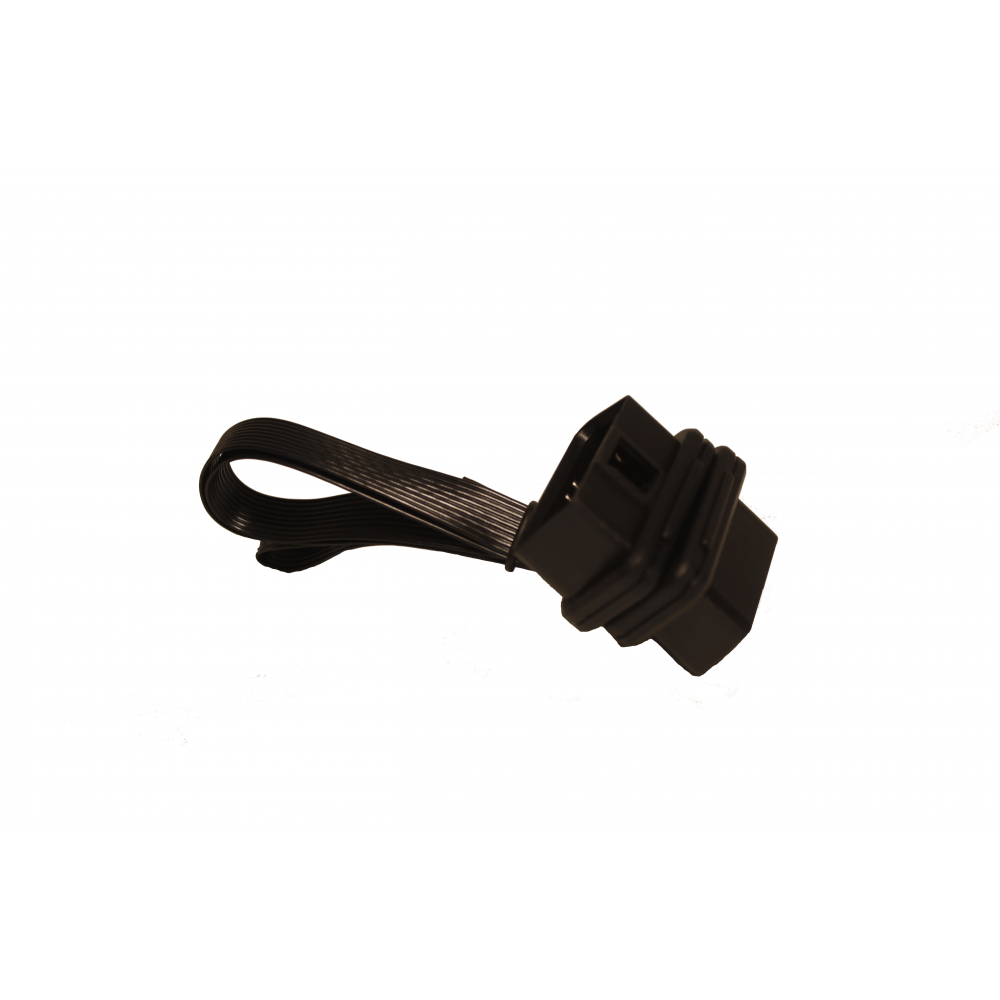 OBD2 extension cable with 9 pin connector.