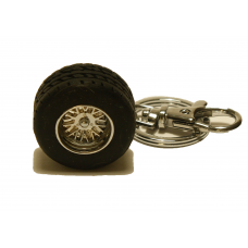 Key Chain - Tire with rim
